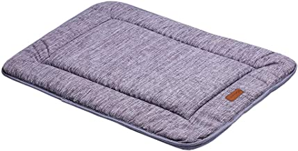 QIAOQI Dog Bed Kennel Pad Waterproof Crate Mat Washable Orthopedic Antislip Beds Dense Memory Foam Cushion Padding Bolster | Perfect Sleep Bedding Pads for Carrier Cage