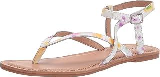 Lucky Brand Women's BYLEE Flat Sandal, SOL Multi, 7