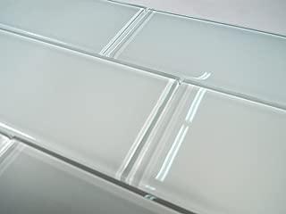 Snow Glass 3x6 Subway Tile