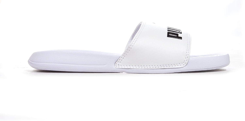 Puma , Chaussures de piscine et plage pour garçon Blanc blanc ...