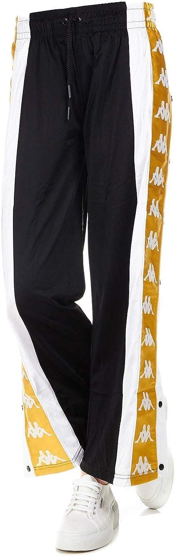 KAPPA Women's 304I780915 Black Polyester Pants