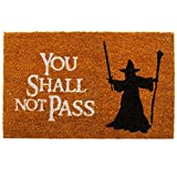 getDigital You Shall not Pass Fußmatte – Hochwertige
