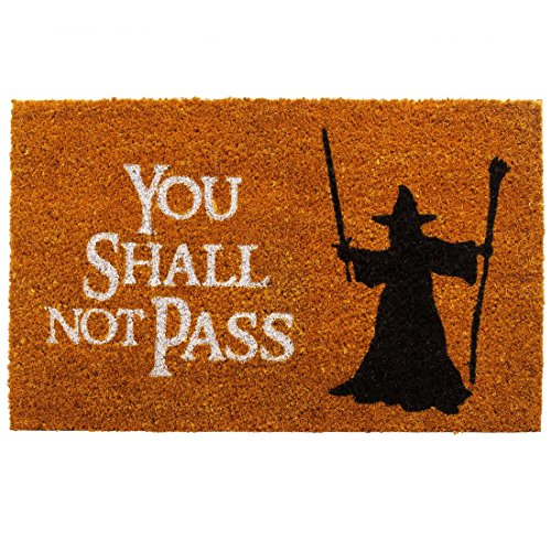 getDigital Felpudo You Shall Not Pass - Varios Colores 60 x 40 cm