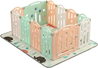ZXRET Baby Fence  Baby Play Fence  Indoor Crawling Mat Home Children Fence Safety Toddler Toy Fence