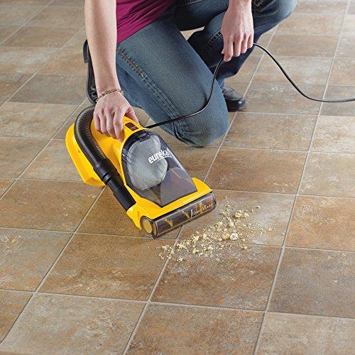 Eureka EasyClean Lightweight Handheld Vacuum Cleaner, Hand Vac Corded, 71B,EasyClean-Yellow