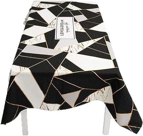 venta al por mayor barato Mantel Cubierta de la la la Tabla Mantel del hogar geométrico Mantel Simple Tela Rectangular de la Sala de Estar Mantel (Talla   140  180cm)  exclusivo