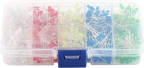 LED Light Emitting Diode, 500 stks 3 mm LED Ronde Wit Geel Rood Blauw Groen Assortiment Diodes DIY Kit