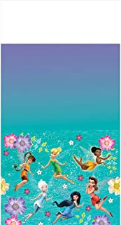 Amscan Tinkerbell Best Friend Fairies Plastic Tablecover 54