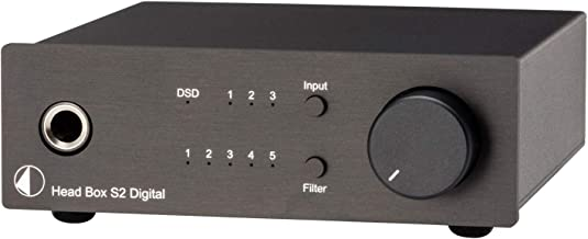 Pro-Ject Head Box S2 Digital Headphone Amplifier and DAC - Black
