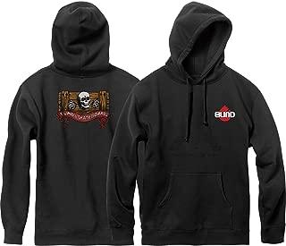 Blind Skateboards Skull Series Black Hooded Sweatshirt - Small