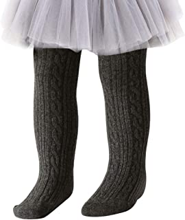 Navy Cotton Fine Knit Footed Tights 6M-3T