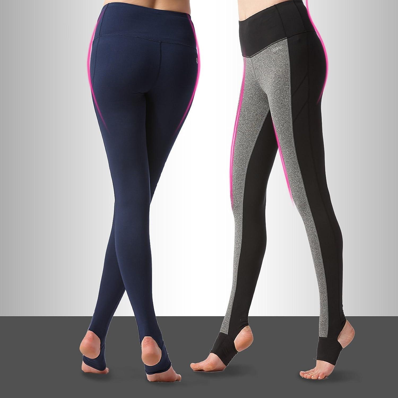 Bazaar Women Sports Fitness Yoga Pants Knitting Slim Leggings Foot Tights M3XXL Elastic Trousers