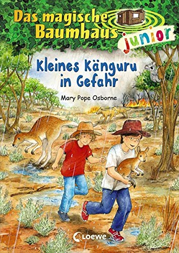 Das magische Baumhaus junior 18 - Kleines Känguru in Gefahr: Kinderbuch zum Vorlesen und ersten Selberlesen - Mit farbigen Illustrationen - Für Mädchen und Jungen ab 6 Jahre