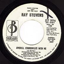 America Communicate With Me (VG+/VG DJ 45 rpm)