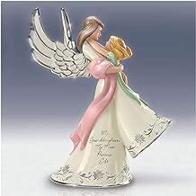 Bradford My Granddaughter My Most Precious Gift Heirloom Porcelain Musical Angel