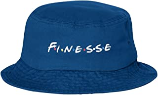 Adult Finesse Embroidered Bucket Cap Dad Hat