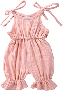 SERAPHY Baby Girls Cute Romper Outfit Newborn Climbing Clothing 3-36 Months Cotton Pants Spring Summer Babies Toddler Jump...