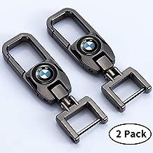 Goshion 2Pack Car Logo Keychain Suit for BMW 1 3 5 6 Series X5 X6 Z4 X1 X3 X7 7 Series, M..