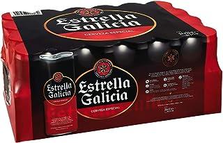 comprar comparacion Estrella Galicia Especial Cerveza - Pack de 24 latas x 330 ml - Total: 7.92 L