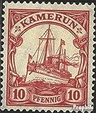 Prophila Collection Camerún (alemán. Colonia) 22a 1906 Barco yate del Emperador Hohenzollern (Sellos para los coleccionistas) Marinero