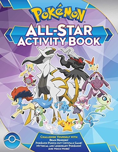 Pokémon All-Star Activity Book: Meet the Pokémon All-Stars--With Activities Featuring Your Favorite...