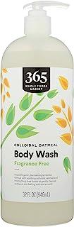 365 by Whole Foods Market, Colloidal Body Wash, Fragrance Free, 32 Fl Oz