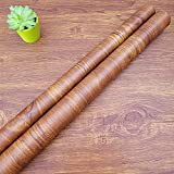 Decorflix Vinilo Papel Adhesivo para Muebles Para forrar amarios mesas estanterías paredes puertas. Vinilo Imitacion Madera Vintage Decorativo Autoadhesivo (Miel Vintage, 60x300cm)