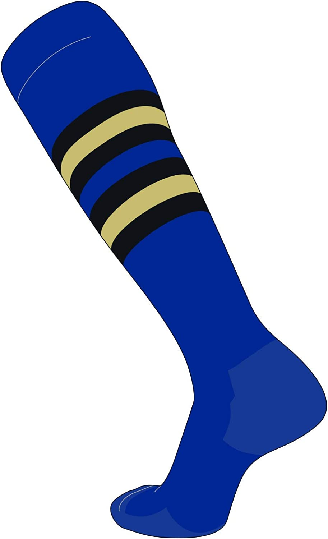 TCK Elite Max 81% OFF Baseball Football Long Striped NEW before selling ☆ Socks I Blue Royal B
