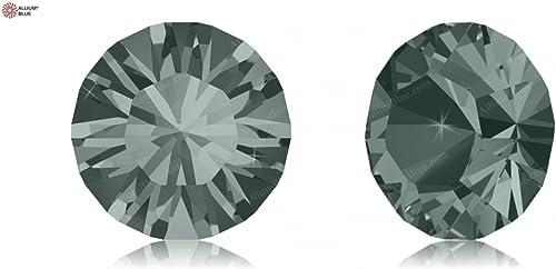 Cristaux de Swarovski 668803 Pierres Rondes 1028 PP 13 noir Diamond F, 1440 Pièces