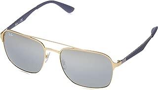 RB3570 Square Metal Sunglasses