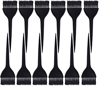 12 Pack Hair Dye Brushes, Color Tint Applicator, Dye Brush Hair Coloring Dyeing Kit(Black)