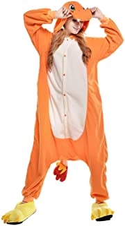 Cosplay Adulte Pyjamas Unisexe Onesies Deguisement Animaux Grenouillères Romper Pajamas Vêtements de Nuit Carnaval Costume...