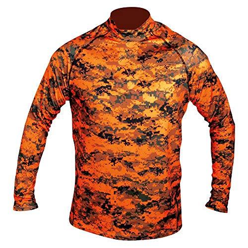 HART Aktiva Langarm Shirt Herren Pixel Blaze XXL