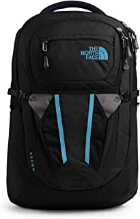The North Face Women's Recon Backpack, TNF Black Heather/Barrier Reef Blue