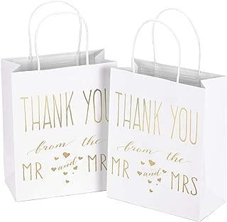 LaRibbons Medium Size Gift Bags - Gold Foil