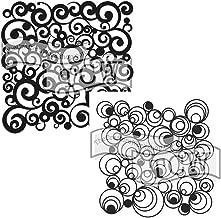 7 by 10-Inch SM97-0800 Stars and Swirls Delta Creative Stencil Mania Stencils