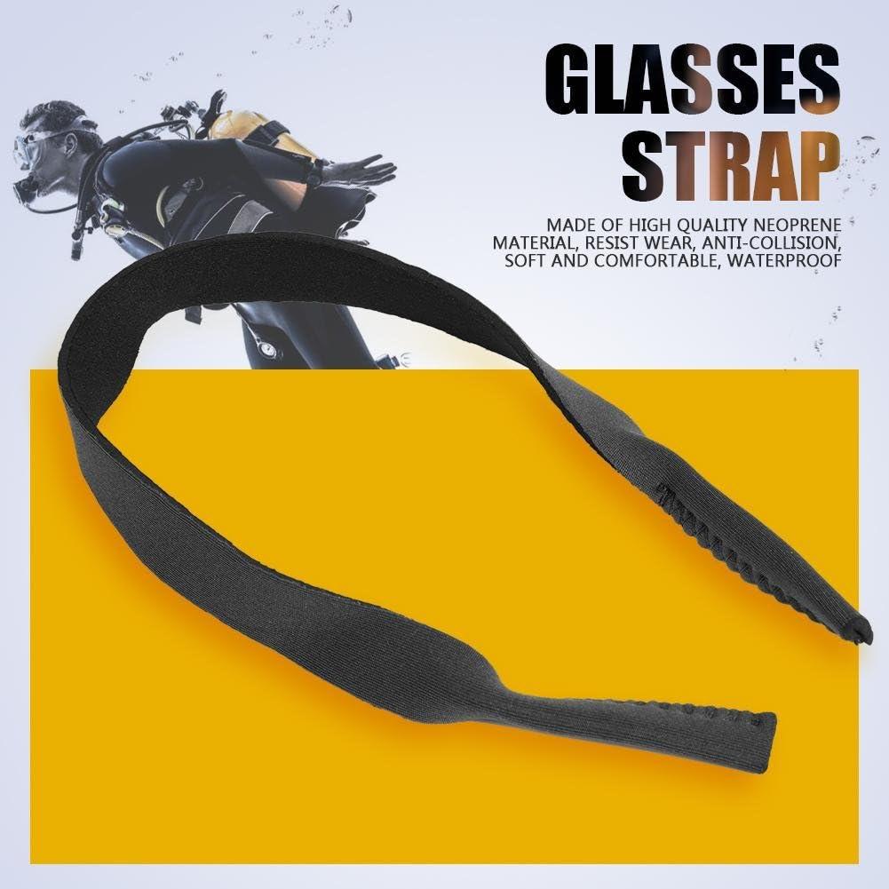 5Pcs Sports Eyeglasses Holder Strap, Safety Sunglasses String Eyewear Retainer Straps(Gray)