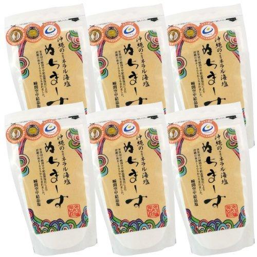 沖縄の海塩 ぬちまーす 250g×6個セット