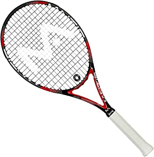 MANTIS Unisex's TSR500G2 300 Ps Iii Tennis Racket, Black and Red, 27 inch