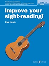Improve Your Sight-Reading! Guitar, Levels 1--3: A Workbook for Examinations
