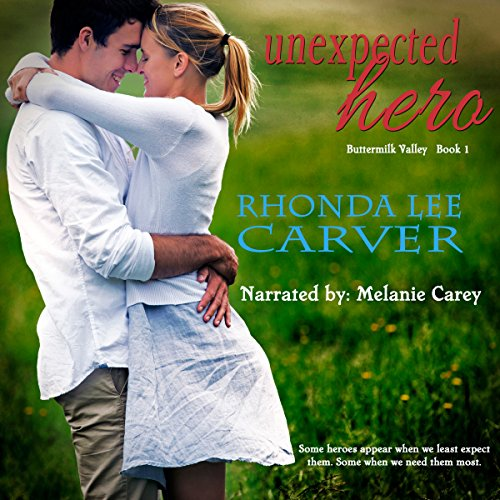 Unexpected Hero audiobook cover art