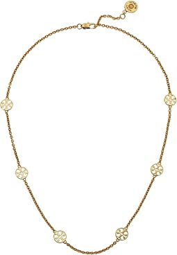 Tory Burch - Delicate Logo Necklace