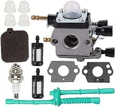 Butom C1Q-S68G Carburetor with Air Filter Tune Up Kit for Stihl BG45 BG46 BG55 BG65 BG85 SH55 SH85 Leafblower 42291200606 Zama C1Q-S68 C1Q-S64