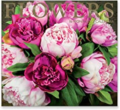 16 Month Wall Calendar 2019: Flowers - Each Month Displays Full-Color Photograph. September 2018 to December 2019 Planning Calendar