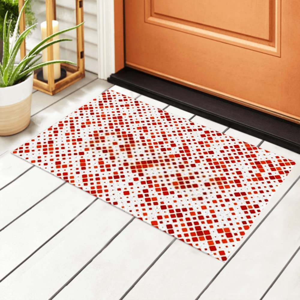 JIUCHUAN Indoor Doormat Color Diagonal cheap Pattern Background Square Max 78% OFF