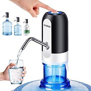 Dispensador de Bomba de Botella de Agua, con bonos de 2 Adaptadores Extra para Jarras de Agua de Varios Calibres, Dispensa...