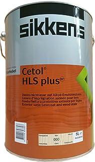Sikkens Cetol HLS Plus Holzlasur Dünnschichtlasur Außen seidenglänzend 1Liter Farbton Wälbar, Farbe:Kiefer 077