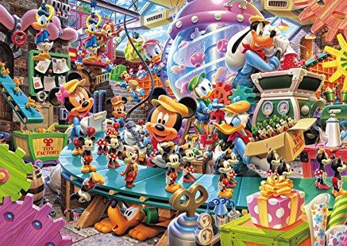 108ピース ジグソーパズル ディズニー ミッキーのトイファクトリー(18.2x25.7cm)