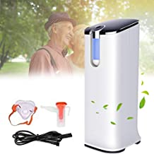 Adjustable 1-5L / Min Home O Concentrator Machine, Portable High Concentration 50%-93% Air Purifier, Multi-layer Filtratio...