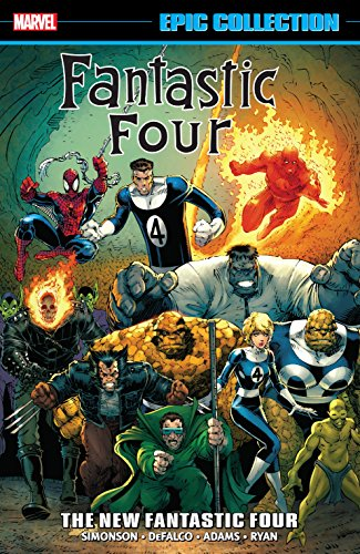 Fantastic Four Epic Collection: The New Fantastic Four (Fantastic Four (1961-1996)) (English Edition)